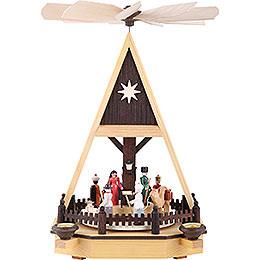 1 - st�ckige Pyramide Christi Geburt  -  34cm
