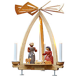 1 - tier pyramid Nativity for Outdoor use  -  300cm / 118 inch