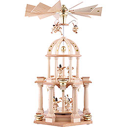 2 - Tier Pyramid  -  Eleven Angels Natural  -  30x55cm / 11.8x21.7 inch