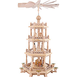 4 -  tier Pyramid Baroque fence  -  22 inch  -  57cm