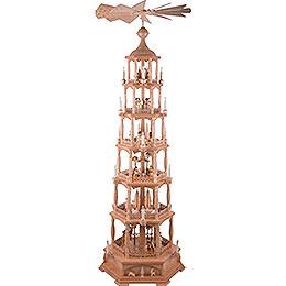 6 - stöckige Pyramide Christi Geburt  -  165cm