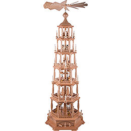 6 - tier pyramid Nativity  -  165cm / 65inch