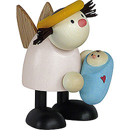 Angel Lotte with Baby Boy    -  7cm / 2.8 inch