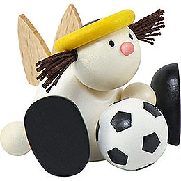 Angel Lotte with football  -  7cm / 2.8inch