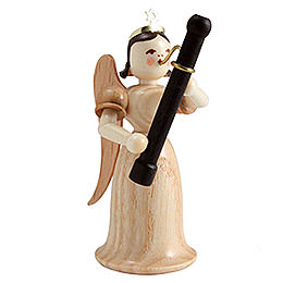 Angel long skirt with bassoon, natural  -  6,6cm / 2.5inch