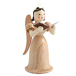 Angel long skirt with singer, natural  -  6,6cm / 2.5inch