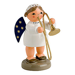 Angel with Trombone  -  5cm / 2 inches