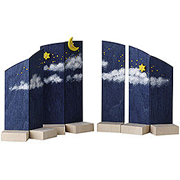 Background night sky  -  13cm / 5.1inch