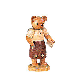 Bear School Girl   -  10cm / 4 inch