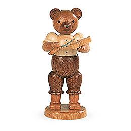 Bear hand carver  -  10cm / 4 inch