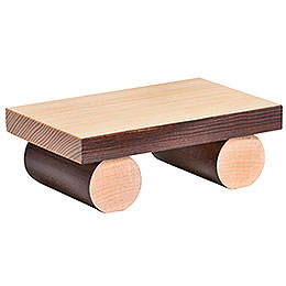 Bench for edge stool, large  -  1x8x4cm / 0.4x3.1x1.5inch