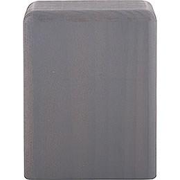 Block Medium Grey  -  8cm / 3.2 inch