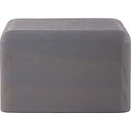 Block small grey  -  4cm / 1.6inch
