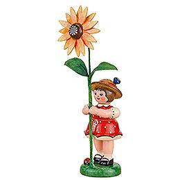 Blumenkind Mädchen mit Sonnenhut  -  11cm