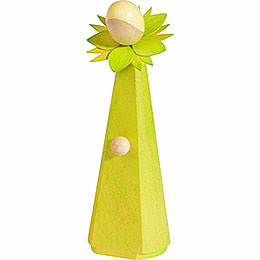 Blumenmädchen, hellgrün  -  11cm