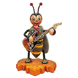 Bumblebee with Electric guitar  -  8cm / 3inch
