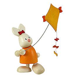 Bunny Emma with Kite  -  9cm / 3.5 inch