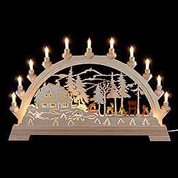 Candle Arch Deer  -  65 x 40cm / 26 x 16 inches