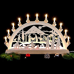 Candle Arch  -  Nativity