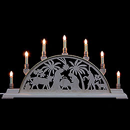 Candle Arch  -  Nativity Scene  -  63x32cm / 25x13 inch
