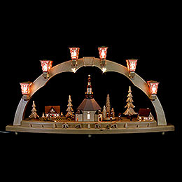 Candle Arch Seiffen Church  -  80cm / 31 inch