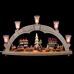 Candle Arch The Erzgebirge Workshop  -  electrical  -  48cm / 19 inch