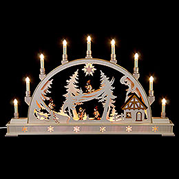 Candle Arch  -  Winterchildren  -  78 x 45cm / 31 x 18 inch