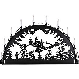 Candle Arch for Outside  -  Sledging  -  100 - 300cm / 40 - 120 inch
