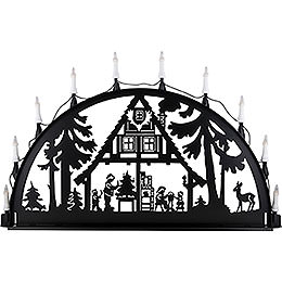 Candle arch for outside Forest hut  -  100 - 300cm / 40 - 120inch