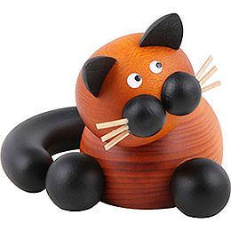 Cat Bommel cuddling  -  5,5cm / 2inch