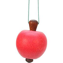Christbaumschmuck Apfel  -  3,0x4,7cm