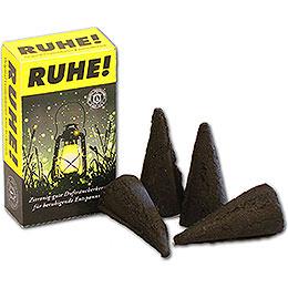 Crottendorfer Incense Cones  -  'RUHE!' Mosquito Repellent  -  XL Size