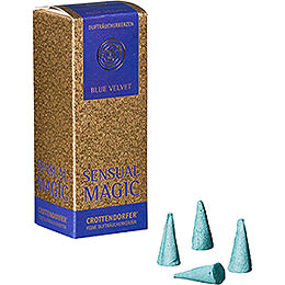 Crottendorfer Incense Cones  -  Sensual Magic  -  Blue Velvet