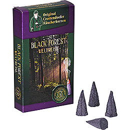 Crottendorfer Incense Cones  -  Trip Around the World  -  Black Forest