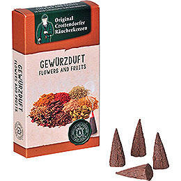Crottendorfer Incense cones  -  Flowers and Fruits  -  Spices