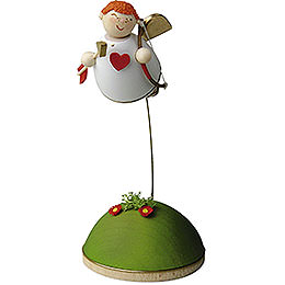 Cupid floating on stand  -  3,5cm / 1.3inch