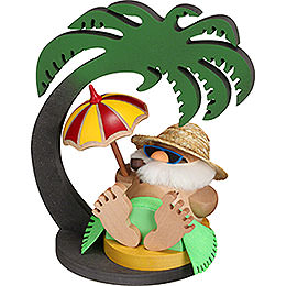 Display Palm Tree for Santa Inkognito  -  20x13x20cm / 7.9x5.1x7.9 inch
