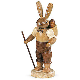 Easter bunny (male) natural colors  -  11cm / 4 inch