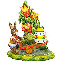 Easter egg teeter - totter  -  12 x 10cm / 4,7 x 3,9inch