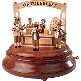 Electronic Music Box  -  Oktoberfest  -  19cm / 7.5 inch