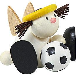 Engel Lotte mit Fußball  -  7cm