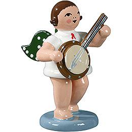 Engel mit Banjo  -  6,5cm