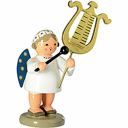 Engel mit Glockenspiellyra  -  5cm
