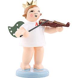 Engel mit Krone und Geige  -  6,5cm