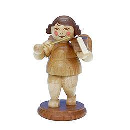 Engel natur mit Geige  -  6,0cm