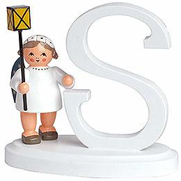 """Engelbuchstabe """"S""""  -  7cm"""