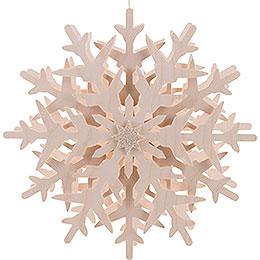 Fensterbild Schneekristall (1)  -  29cm