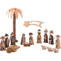 "Figures ""Nativity"", incl. 1 Palm Tree, 1 Star with Tail"