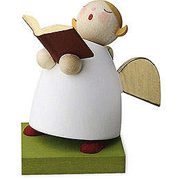 Guardian angel with book singing  -  3,5cm / 1.3inch