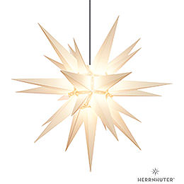 Herrnhuter Moravian star A13 white plastic  -  130cm/51inch